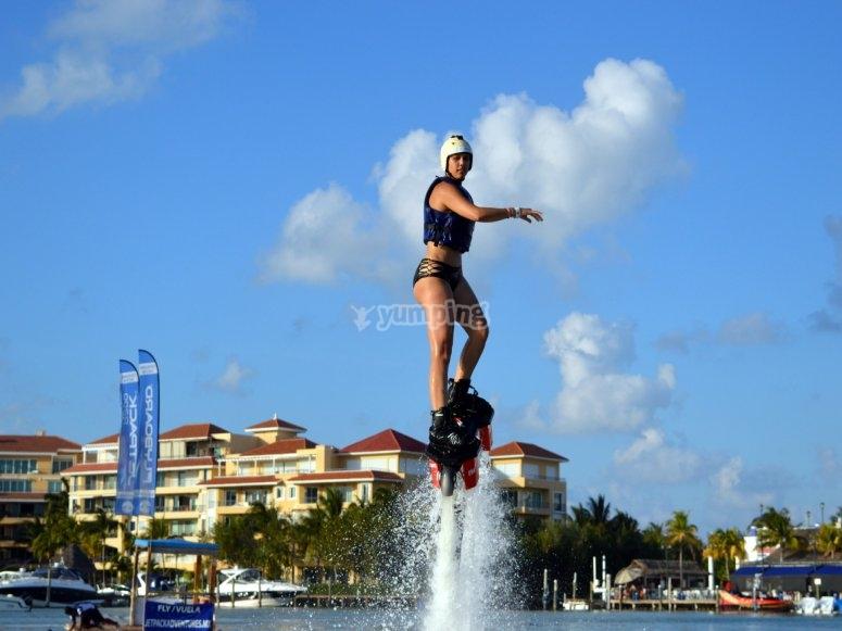 flyboard en cancun