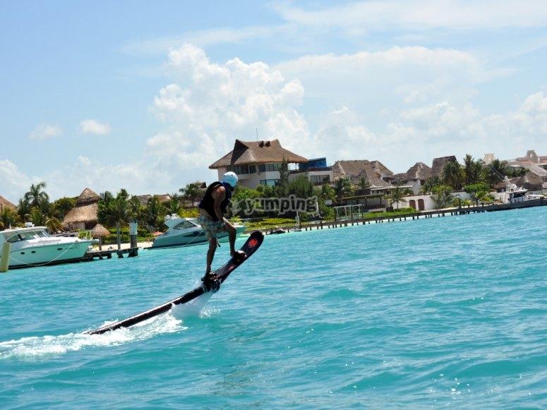 Prueba el hoverboard