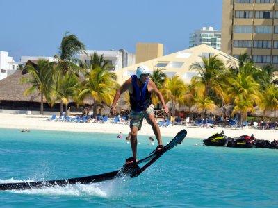 Vuelo hoverboard en Cancún durante 20 minutos