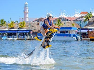 Vuelo en jetovator tandem durante 30 min en Cancún