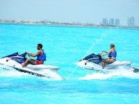 Two-seater jet ski rental in Punta Sam 30 min