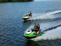 Moto acuática y snorkel en la Laguna Nichupte