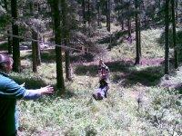 Tirolesa niños