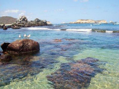 Paseo por las Bahías de Huatulco y snorkel 5 horas