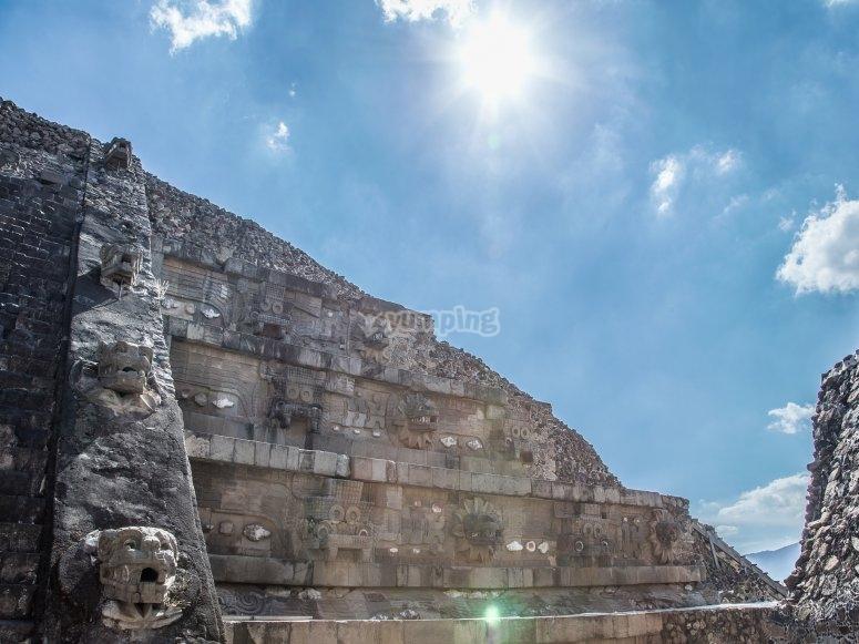 Pyramid in Teotihuacán