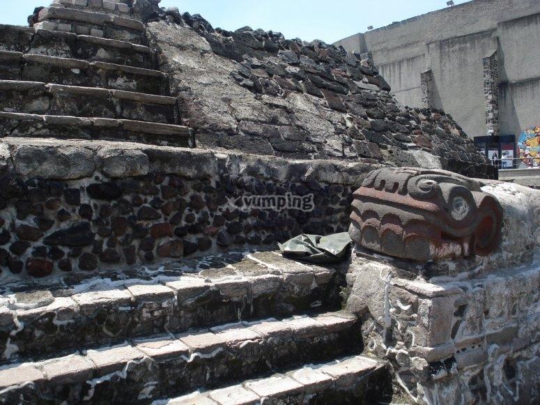 Rocks in Templo Mayor