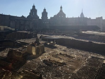 Tour by Templo Mayor museum in CDMX