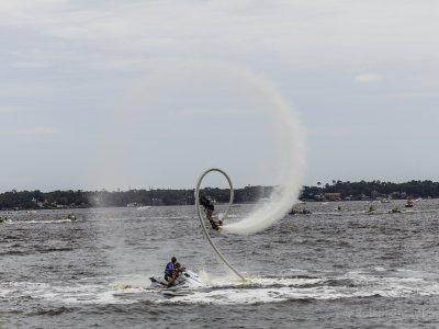 Tandem flyboard in Playa del Carmen 40 min.