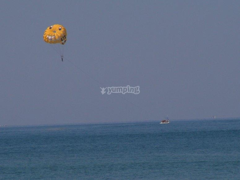 parasailing playa del carmen