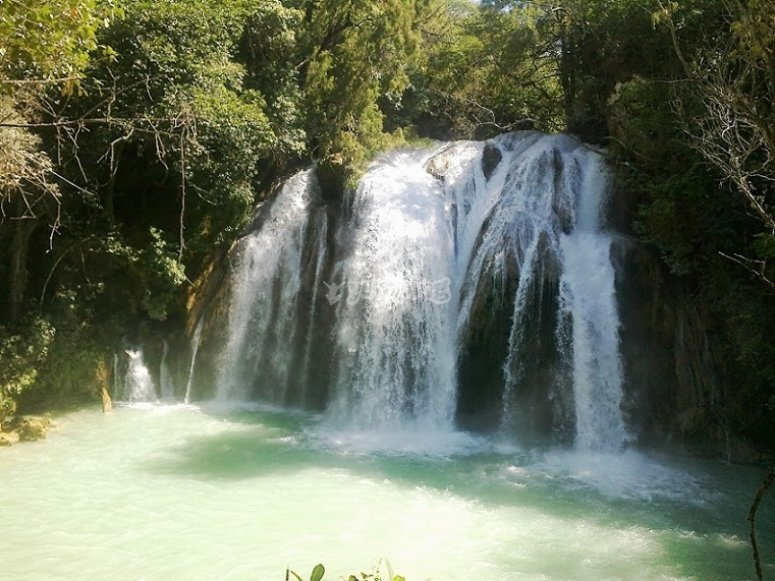 Chiapas waterfall