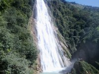 Big waterfall in Chiapas