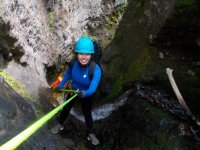 Canyoning with 8 rappels