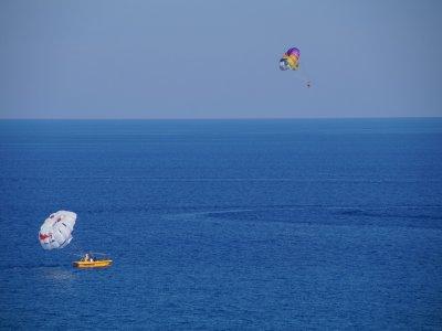 Parasail for 15 minutes, Mamitas Beach