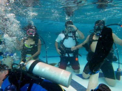 Open Water Diver course, weekend