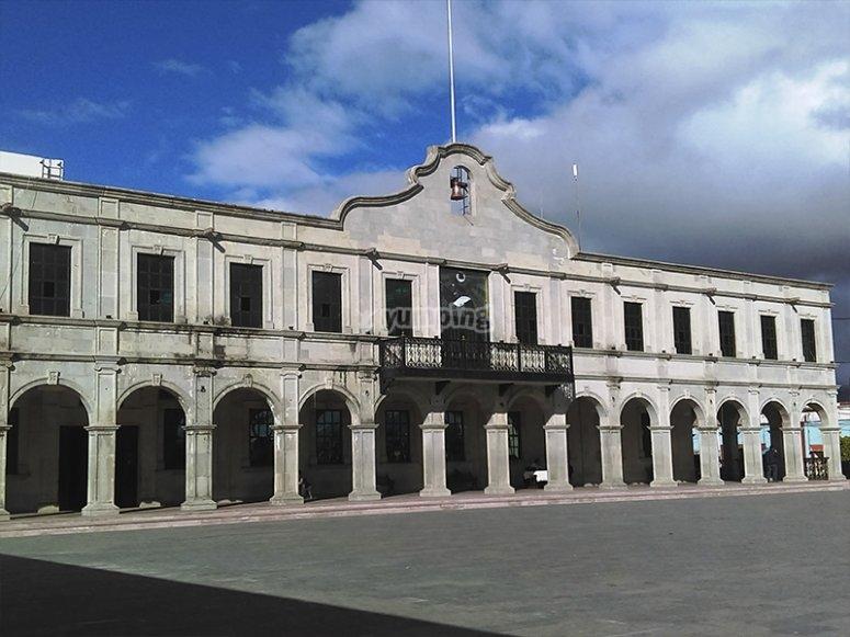 Palacio municipal de Actopan.