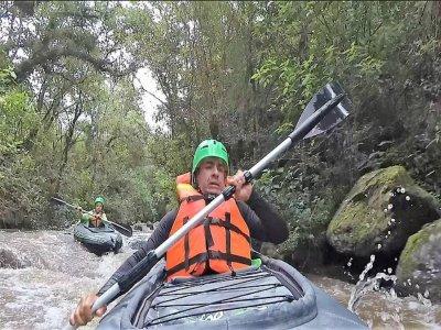 Aventura en kayak por río, Valle de Bravo, 2:30h
