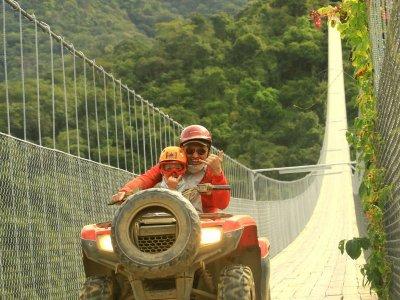 Tour ATV biplaza Jorullo Bridge en Pto Vallarta 2h