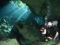 Adventure within cenotes