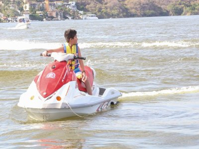 Double jet ski 1 hour, Morelos