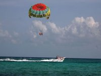 Adventure parasail in tandem