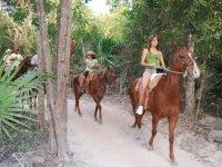 Hermosos recorridos a caballo