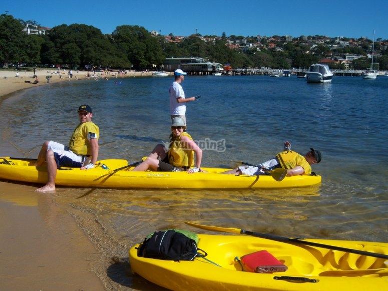 kayak en compania