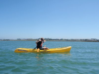 Kayak rental 1 hour, Playa Mojito