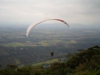 Paragliding in Fortin