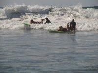 Clases de surf  para gente que no sabe nadar