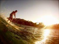 Surf coaching