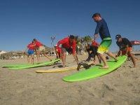Clase teorica y seguridad en la playa