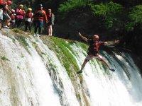 salto en cascadas Huasteca Potosina