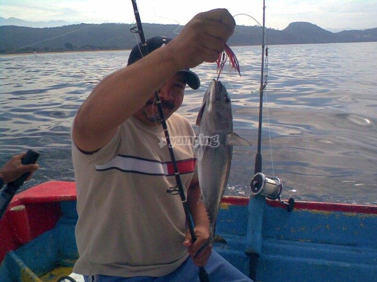 Day fishing