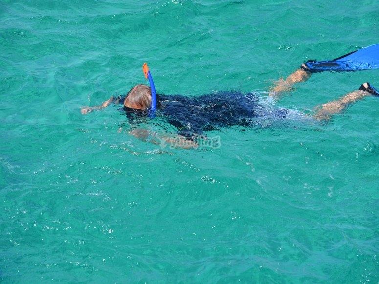haz snorkel con nosotros