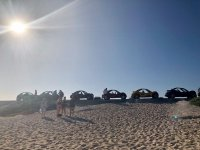 Buggies on the beach