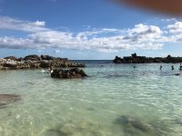 Beach in the island