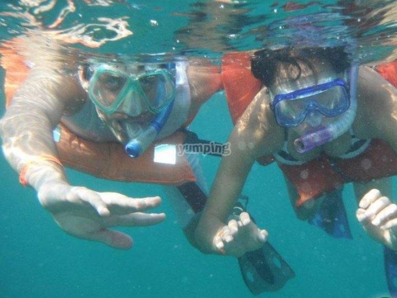 snorkel en compania