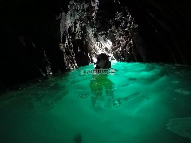 Snorkel en Roca partida