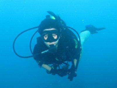 Diving in Roca Partida