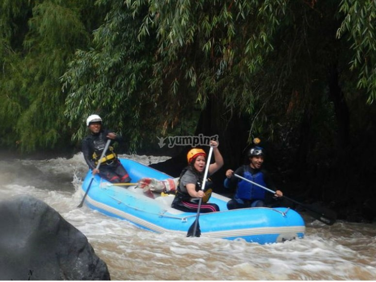 Adventure and adrenaline on board your raft