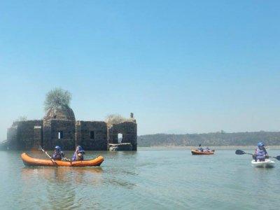 Ruta de kayak en Presa Solís 8 horas