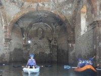 Ruta de kayak por la Iglesia Hundida, 7 horas.
