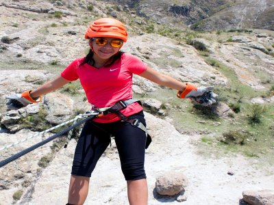 Rappel + optional activities + accommodation