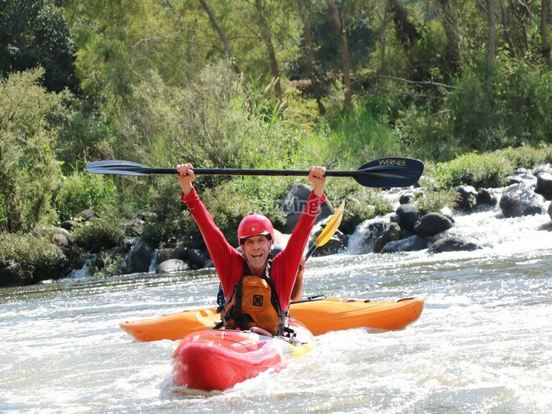 Triunfando en el Kayak