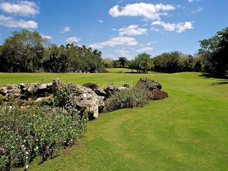 Nuestro gran campo de golf