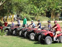 ATVs in action