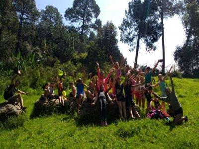 Adventure camp in Valle de Bravo