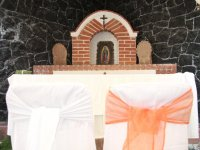 Mini capilla para Ceremonias de accion de gracias