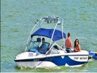 Speedboat ride in Valle de Bravo