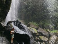 Beautiful waterfall and waterfall